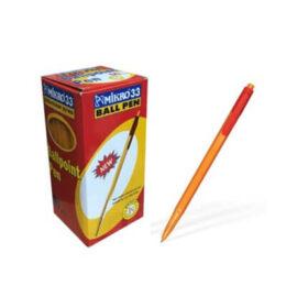 Mikro-33 Tükenmez Kalem, Kırmızı (60'lı) ''