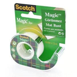 3M Scotch Magic Bant Kesicili Görünmez Bant, 19mm * 7,5 m ''