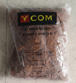 YCOM PAKET LASTİĞİ 7cm KAHVE 1KG ''