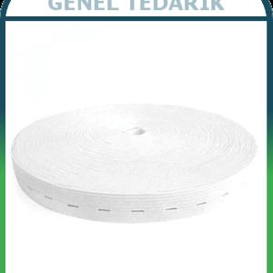 1.5 cm İlikli Beyaz Lastik (METRE) ''
