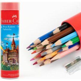 Faber-Castell 12'li Tüp Kuru Boya Kalemi ''