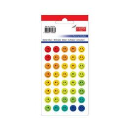 Tanex TDE-152 Gülen Yüz Mix 10mm Damla Etiket (1pkt) ''