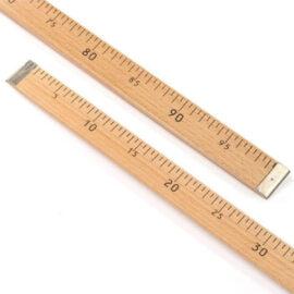 Muşi, Tahta Metre 100cm'lik -Manifaturacı Metresi ''