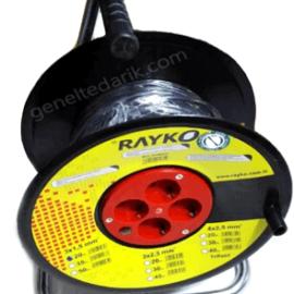 Rayko Makaralı 4 Prizli Uzatma Kablosu, 20 Metre ''