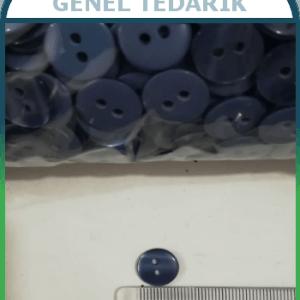 20 Boy 12.8 mm Lacivert Sedef Düğme ~