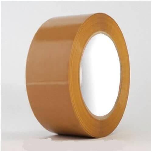 Lüks-Bant™ Kahverengi Koli Bandı 43mmx100m (Hot-melt) ''