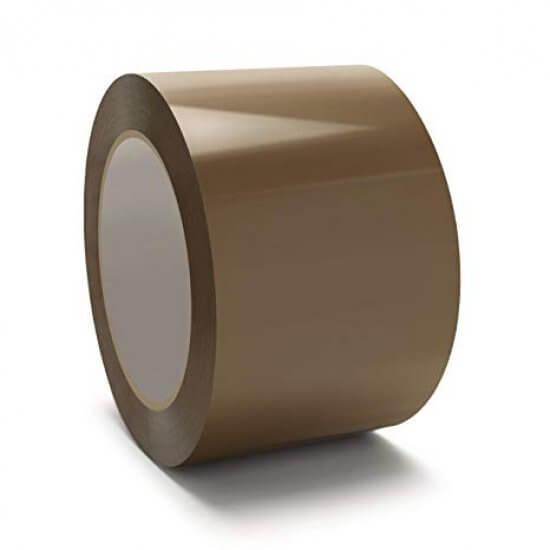Lüks-Bant™ Kahve Rengi Koli Bandı 70mmx100m ''