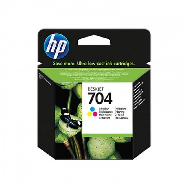 HP 704 Üç Renkli Kartuş CN693AE ''