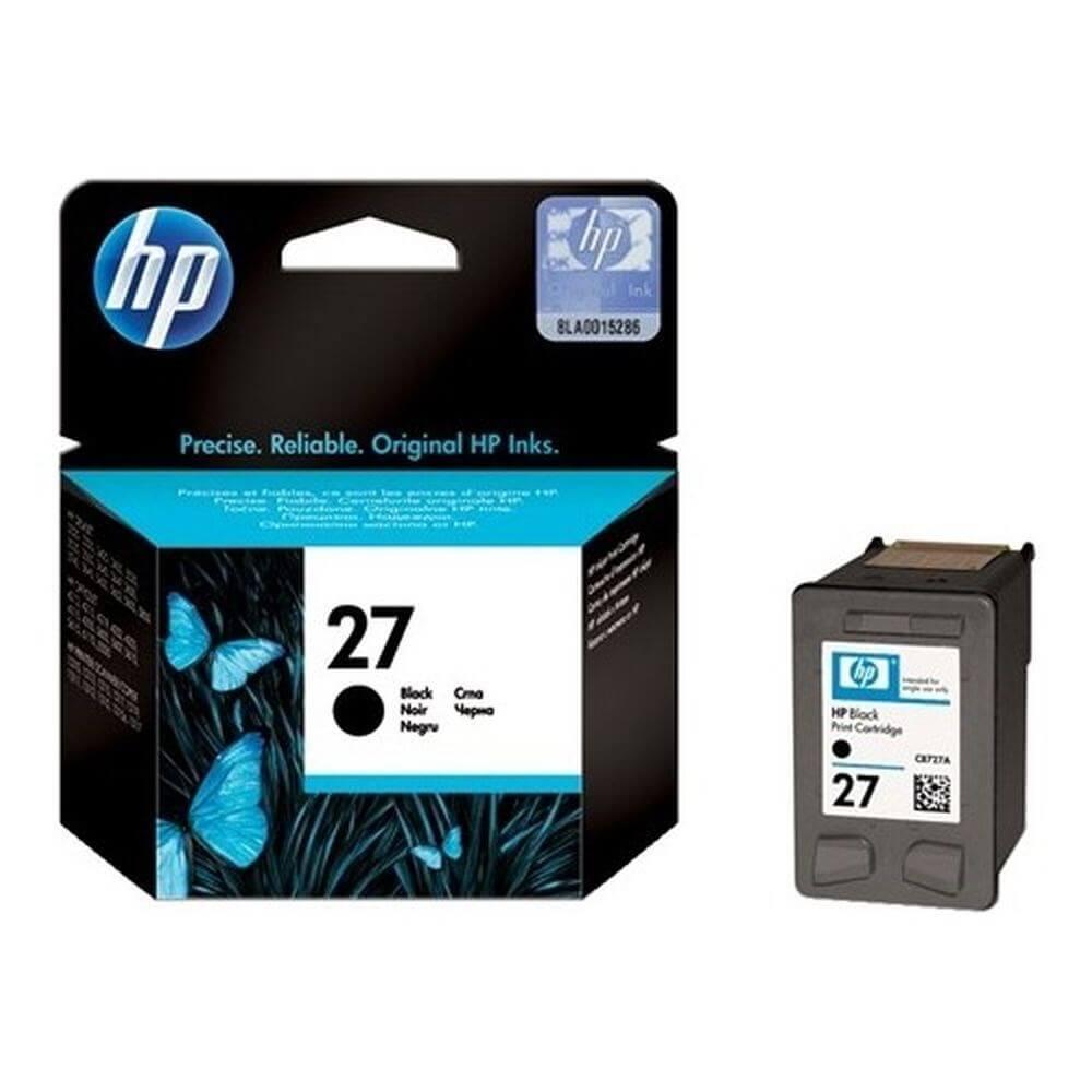 HP 27 C8727A Siyah Mürekkep Kartuş 280 Sayfa ''