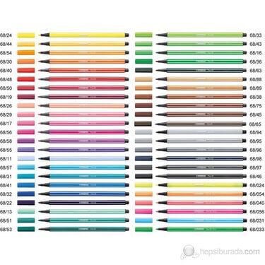 Stabilo Pen 68 Keçeli Kalem Çeşitleri (Adet) ''