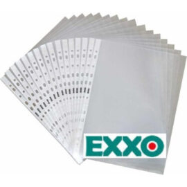 EXXO 100 Adet Şeffaf Dosya ''