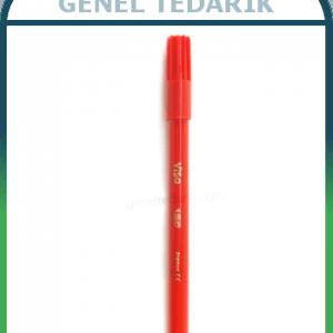 BIC Kırmızı Keçeli Kalem 24 Adet/Kutu ~