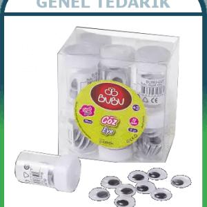 BUBU, Oynar Göz - Siyah (15 mm)