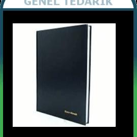Cem, Giden Evrak Kayıt Defteri Ciltli 144 yp ~