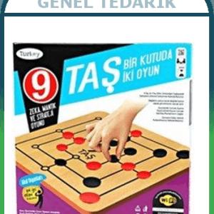 Done, 9 Taş / 3 Taş Bir Kutuda 2 Oyun