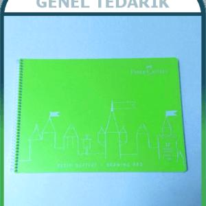 Faber Castell Resim Defteri - Plastik Kapak - 30 yaprak (25cm x 35cm - 120gr) '