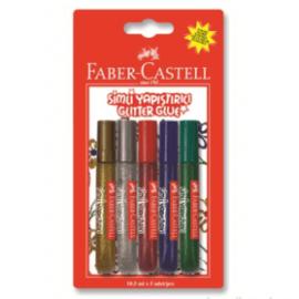 Faber-Castell, Simli Yapıştırıcı - 5 Renk ''