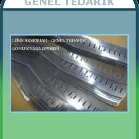 100'lü Şeffaf Gömlek Yaka Çemberi, 3.5*48 cm, 40mic ~
