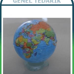 Gürbüz, Globe Kalemtraş Siyasi Küre 10 Cm ~