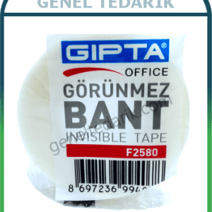 GIPTA F2580, Görünmez Ofis Bandı - 18mmx33m '