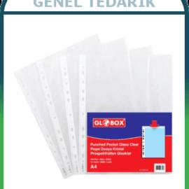 GLOBOX, Kristal Poşet Dosya - 100'lü '