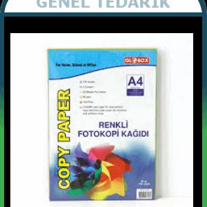 Globox, A4 Renkli Fotokopi Kağıdı '