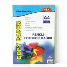Globox, A4 Renkli Fotokopi Kağıdı ''