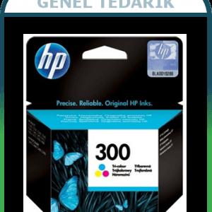 HP 300 Üç Renkli Kartuş CC643EE '