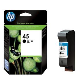 HP 45 Siyah (Black) Kartuş ''