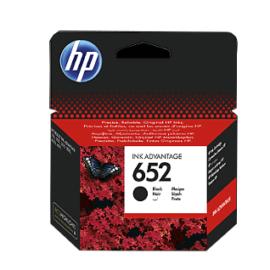 HP 652 Siyah (Black) Kartuş ''