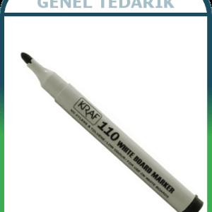 KRAF, 110 Beyaz Tahta Kalemi - Siyah (12'li) ~