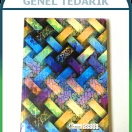 Keskin Assos 411951-99 Sert Kapaklı Hafif Kağıtlı Defter - 17x24 (60gr)