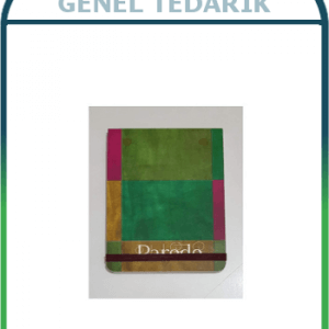 Keskin Color Lastikli Tiny Bloknot Kareli 9cm x 13cm 80 Yaprak '