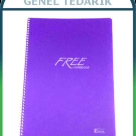 Keskin Free Defter SP.PP.Kapak - 60gr/A4 - 160 Yaprak (Çizgili) '