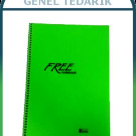 Keskin Free Defter SP.PP.Kapak - A4 - 80 Yaprak '