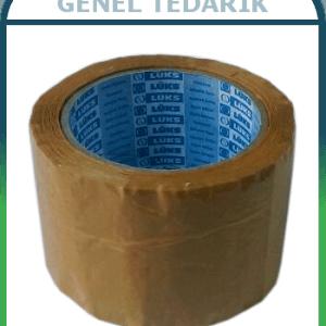 Lüks-Bant™ Kahve Rengi Koli Bandı 70mmx100m ~