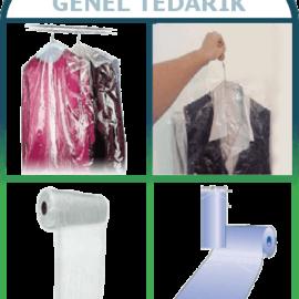 Lüks-Pack™ Şeffaf Elbise Poşeti 60cm x 120cm-Kg (Rulo Naylon) *