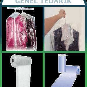 Lüks-Pack™ Şeffaf Elbise Poşeti 70cm x 100cm-Kg (Rulo Naylon) *