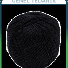 Lüks-Pack™ Jüt Keten ip Siyah (100g) '