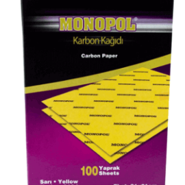 MONOPOL, Karbon Kağıdı - Sarı (100'lü) ''