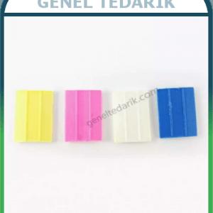 Mu-Şi Renkli Uçan Çizgi Taşları 100 Adet/Kutu ~