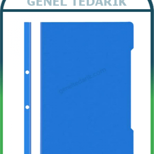 NOKİ Eco Telli Dosya Mavi 50'li 48288-130 ~