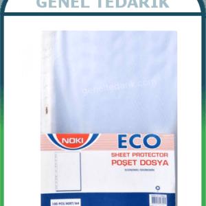 NOKI 4830-ECO Delikli A4 Poşet Dosya (100 lü Paket) ~
