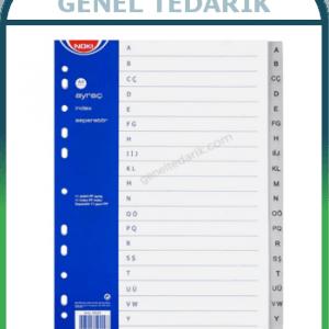NOKI 59229 Ayraç A4 A-Z Alfabetik ~