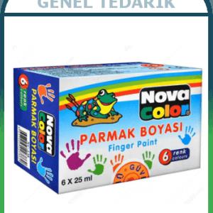 Nova Color, Parmak Boyası - 6 Renk (25 ml) '