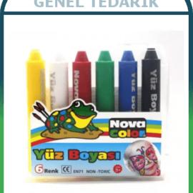 Nova Color, Yüz Boyası - 6 Renk '