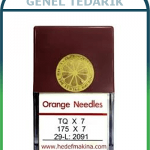 Orange, TQx7 Makina İğnesi - 10'lu *