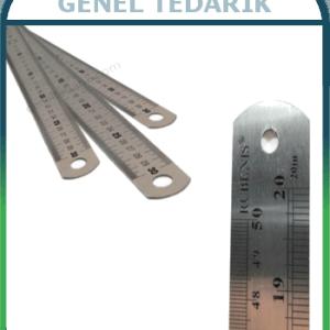 RUBENIS JR-100, 40 İnç Çelik Cetvel 100cm ~