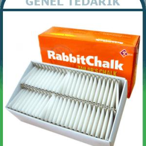 RabbitChalk ( Tavşan ) Beyaz Çizgi Taşı 50'li *