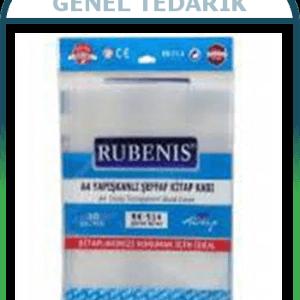 Rubenis RK-514, A4 Şeffaf Kitap Kabı - 10'lu ~
